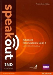 Clare, J., Antonia; Wilson Speakout. 2Ed Advanced. Flexi Student's Book+Workbook 2 with DVD and MyEnglishLab