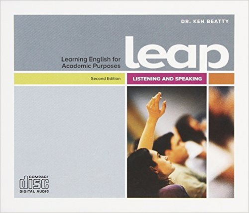 Audio CD. Learning English for Academic Purposes