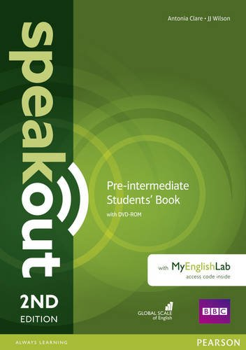 Wilson, Clare, Antonia, J. Speakout. 2Ed Pre-Intermediate. Student's Book with MyEnglishLab Access Code Pack