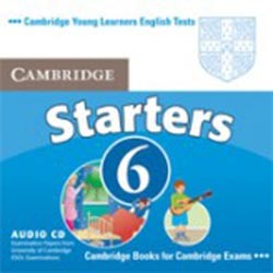 Cambridge Young Learners English Tests 6 Starters Audio CD (Лицензия)