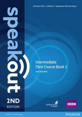 Clare, J., Antonia; Wilson Speakout. 2Ed Intermediate. Flexi Course Book 2 with DVD-ROM