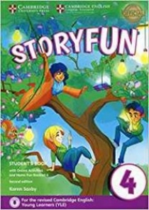 Saxby K. Storyfun for Movers. Level 4. Student's Book with Online Activities and Home Fun Booklet 4