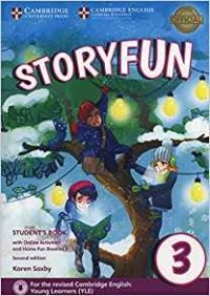Saxby K. Storyfun for Movers: Level 3: Student's Book with Online Activities and Home Fun Booklet