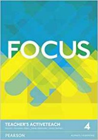 Focus 4. Teacher's Active Teach DVD