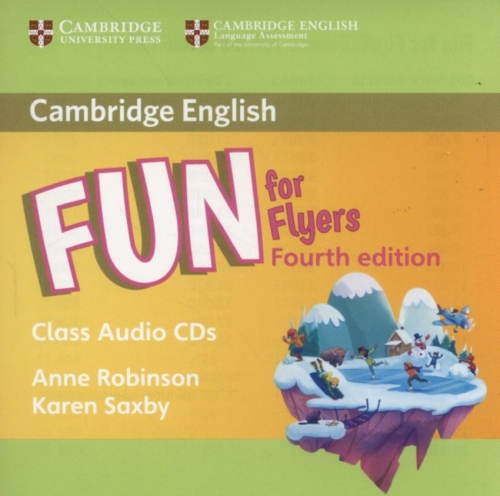Audio CD. Fun for Flyers. Class Audio CDs