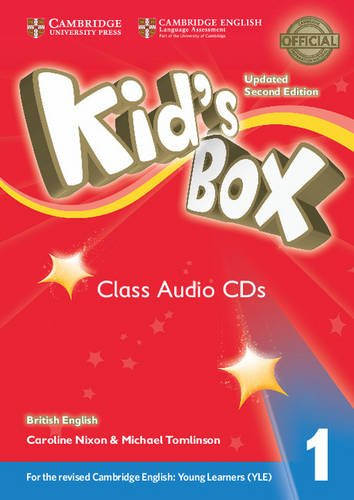 Kid's Box Updated 2nd Edition Audio CD 1