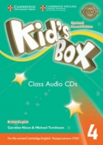 Kid's Box Updated 2nd Edition Audio CD 4