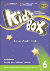 Kid's Box Updated 2nd Edition Audio CD 6
