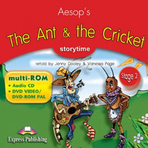 The Ant & the Cricket. Multi-ROM (Audio CD / DVD Video & DVD-ROM PAL). Аудио CD/DVD видео