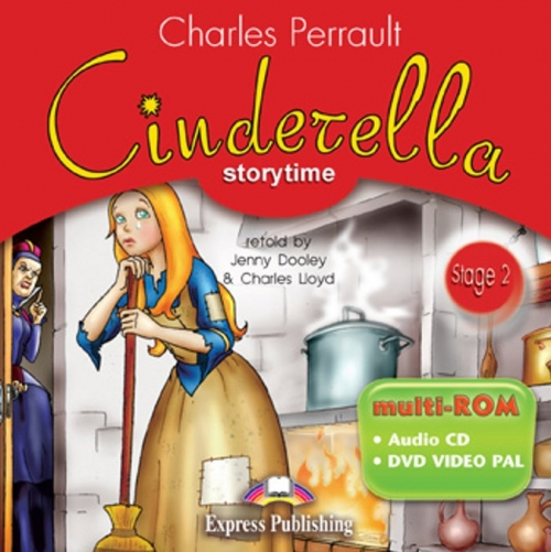 Cinderella. multi-ROM (Audio CD / DVD Video PAL). Аудио CD/DVD видео