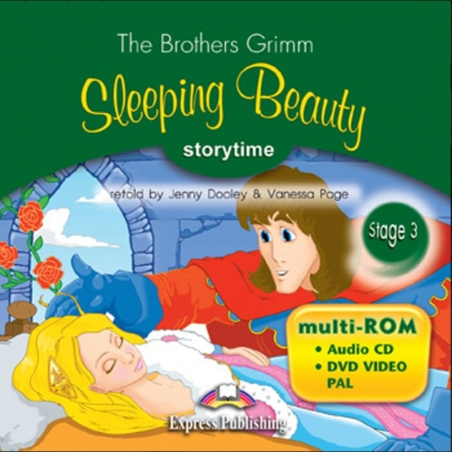 Sleeping Beauty. multi-ROM (Audio CD / DVD Video PAL). Аудио CD/DVD видео