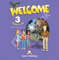 Evans V. Welcome 3. Pupil's Audio CD. Аудио CD для работы дома