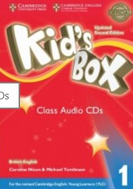 Kid's Box Updated 2nd  Audio CD 1  - лицензия