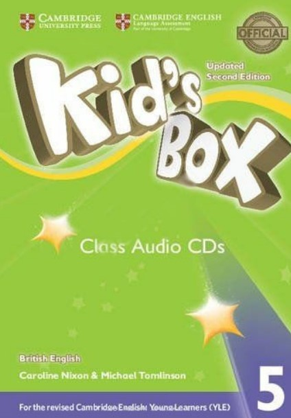 Nixon/Tomlinson Kid's Box Updated 2nd Edition Audio CD 5 лиц.