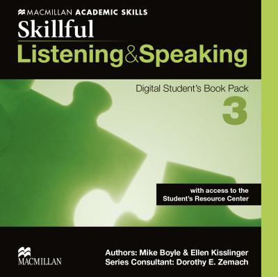 Skillful 3. Listening and Speaking. Digital Student's Book Pack