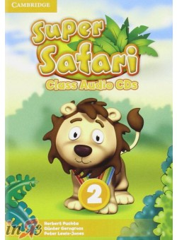 Puchta et al Super Safari Level 2 Class Audio Cds (2) лиценз