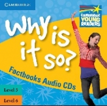 Brenda Kent - Factbooks: Why is it so? Levels 5-6 Factbook Audio CDs (2)