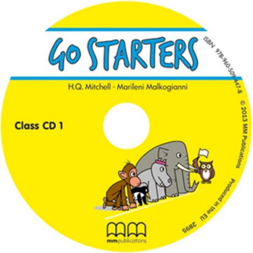 Go Starters (2018 Exam) Class Audio CDs with Teacher's Notes