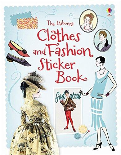 Ruth Brocklehurst, Christophe Lardot Usborne. Sticker Book: Clothes&Fashion