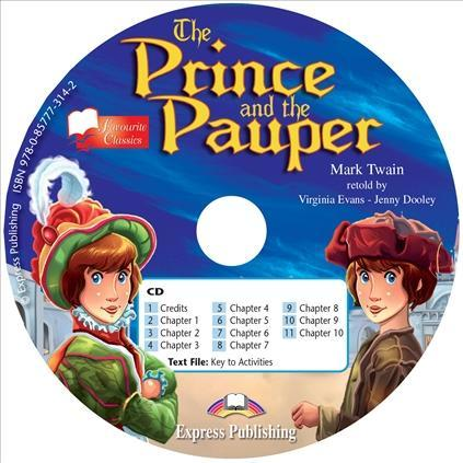 The Prince and the Pauper – audio cd