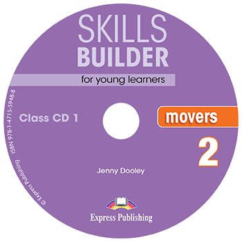 Jenny Dooley Skills Builder for young learners, MOVERS 2 Class CDs (set of 2). Аудио CD
