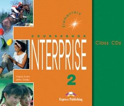 Evans, Virginia & Dooley, Jenny Enterprise 2. Elementary. Class Audio CDs (3)