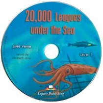 Jules Verne 20,000 Leagues Under the Sea. Graded Readers. Level 1. Audio CD. Аудио CD