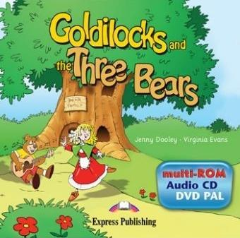 Goldilocks and the Three Bears. Multi-Rom (Audio CD / DVD Video PAL). Аудио CD/ DVD видео