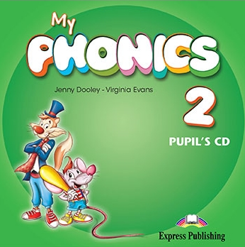 Virginia Evans, Jenny Dooley My Phonics 2 Pupil's Audio CD. Аудио CD для работы дома