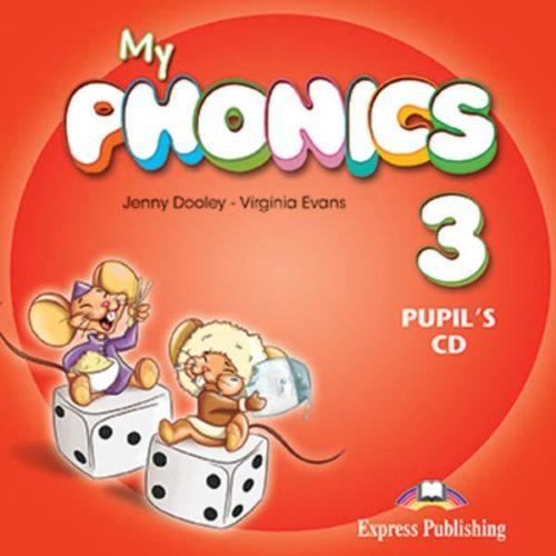 Virginia Evans, Jenny Dooley My phonics 3. Pupil's CD. Аудио CD для занятий дома