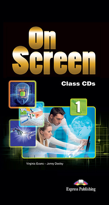Virginia Evans, Jenny Dooley On Screen 1. Class CD's (set of 5) International. Аудио CD для работы в классе
