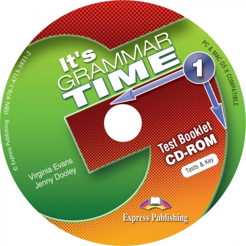 Virginia Evans, Jenny Dooley It's Grammar Time 1. Test Booklet CD-Rom (International). CD-ROM диск с тестовыми заданиями