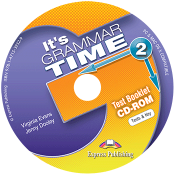 Virginia Evans, Jenny Dooley it's Grammar time 2. Test Booklet CD-Rom (international). CD-ROM диск с тестовыми заданиями