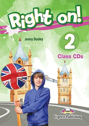 Jenny Dooley Right on! 2. Class CDs (set of 3) (international). Аудио CD для работы в классе