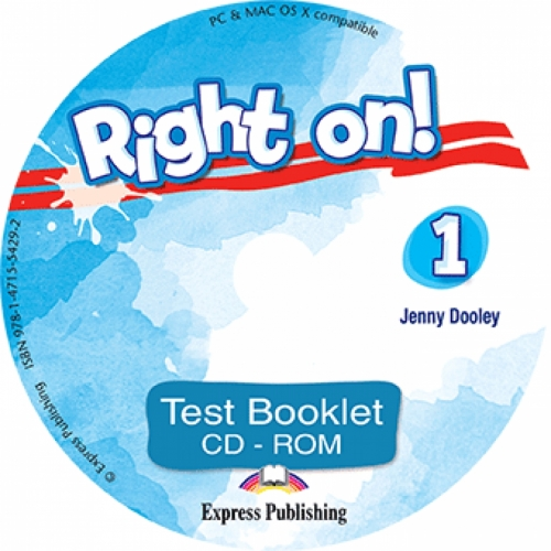 Jenny Dooley Right on! 1. Test booklet CD-ROM (international). Сборник тестовых заданий CD-ROM