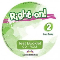 Jenny Dooley Right on! 2. Test booklet CD-ROM (international). Сборник тестовых заданий CD-ROM