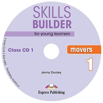 Jenny Dooley Skills Builder for young learners, MOVERS 1 Class CDs (set of 2). Аудио CD