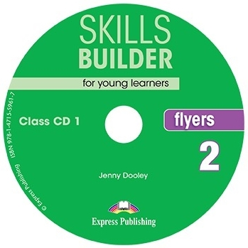 Jenny Dooley Skills Builder for young learners, FLYERS 2 Class CDs (set of 2). Аудио CD