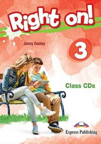 Jenny Dooley Right on! 3. Cass CDs (set of 3) (international). Аудио CD для работы в классе