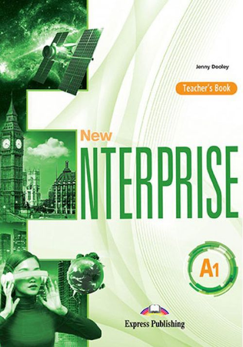 Jenny Dooley New Enterprise A1. Teacher's Book (International). Книга для учителя