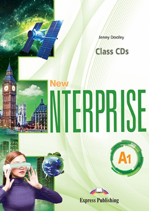 Jenny Dooley New Enterprise A1. Class Cds (Set Of 4) (International). Аудио CD для работы в классе (4 шт)
