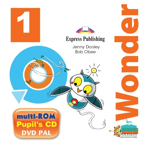 Jenny Dooley, Bob Obee i-Wonder 1. Pupils Multi Rom Pal (International). Аудио CD/ DVD видео