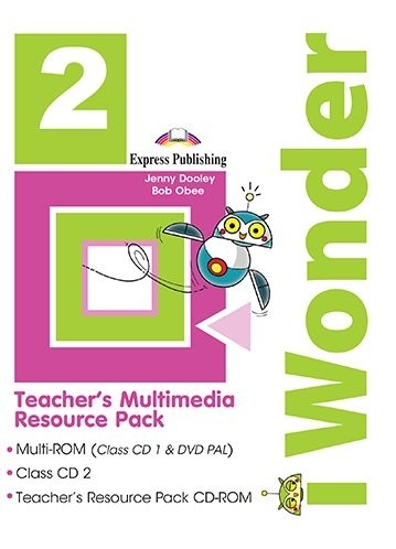 Jenny Dooley, Bob Obee I-wonder 2. (pal) Teacher's Multimedia Resource Pack (set of 3) (international). Аудио/DVD/дополнительные материалы для учителя
