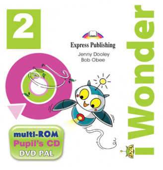 Jenny Dooley, Bob Obee I-wonder 2. Pupils Multi Rom Pal (international). Аудио CD/DVD видео