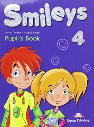 Virginia Evans, Jenny Dooley Smiles 4. Pupils Book International. Учебник