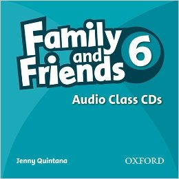 Jenny Quintana Family and Friends 6 Class Audio CDs