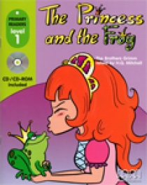 Primary Reader Level 1 The Princess & The Frog, with Audio CD