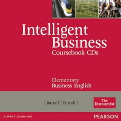 Intelligent Business Elementary Coursebook CDs