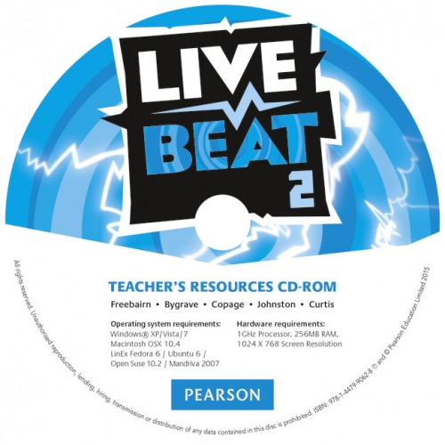CD-ROM. Live Beat 2 Teacher's Resources