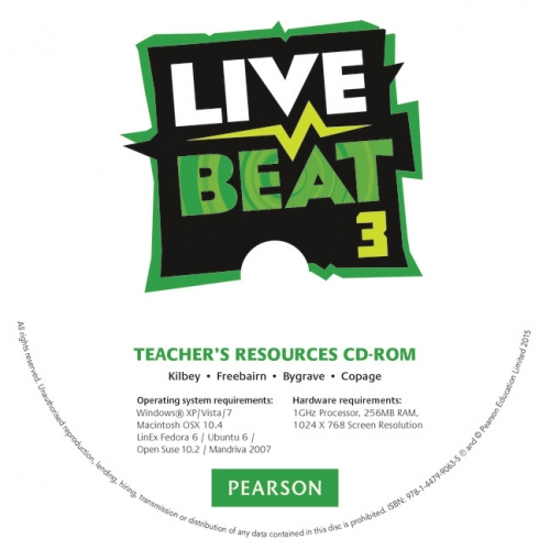 CD-ROM. Live Beat 3 Teacher's Resources: 3